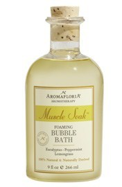 AromaFloria Muscle Soak Foaming Bubble Bath