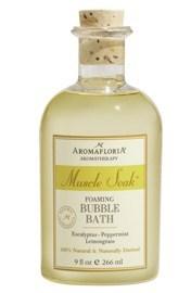 AromaFloria Muscle Soak Foaming Bubble Bath